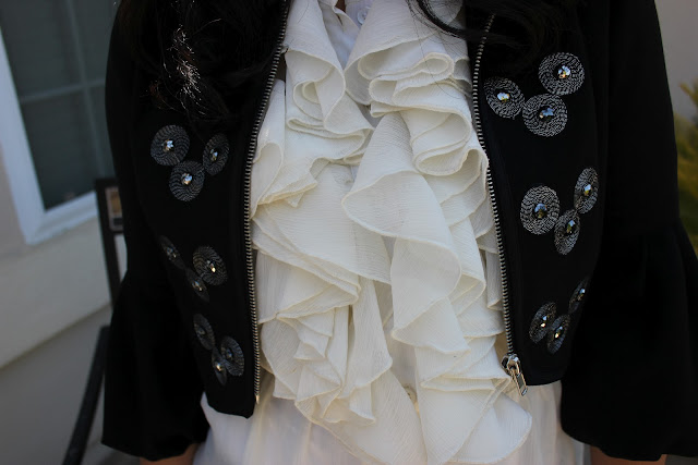 Ruffles and Matador Jacket
