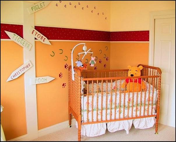 Winnie The Pooh Baby Nursery Decor (5 Image)