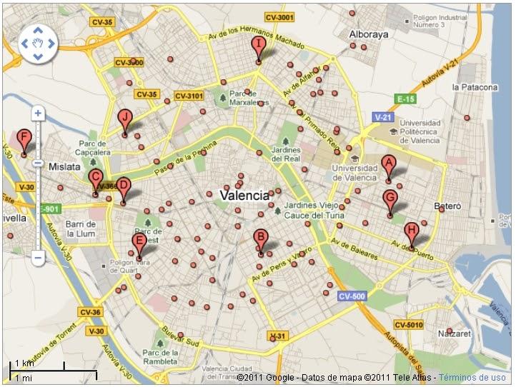 Geomarketing valencia un blog de david piles by - Bricor badajoz ...