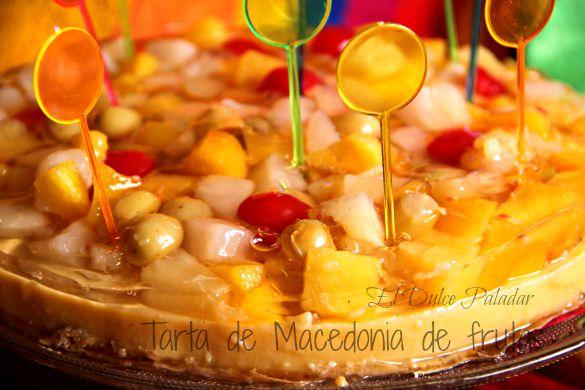 Tarta de macedonia de frutas - Macedonia de frutas thermomix ...
