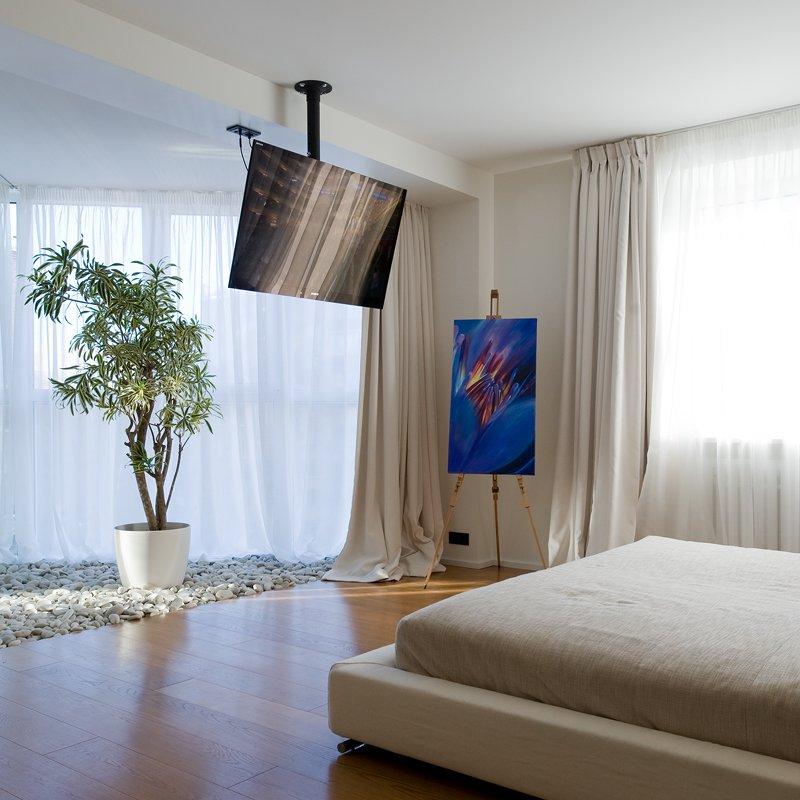 O apartamento decora o tv no quarto for Ideas para techos