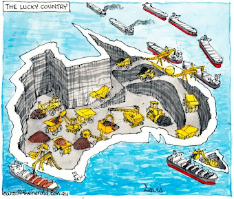 Australia :  The Lucky Quarry