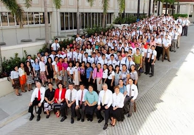 "Tacloban LDS Missionaries at MTC after the Typhoon ""Yolanda"""