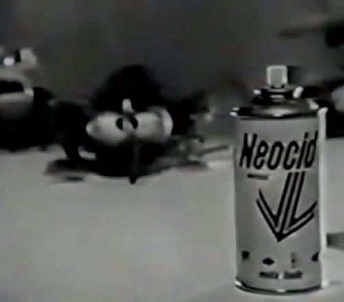Propaganda do famoso inseticida Neocid, nos anos 70. Comercial capaz de assustar muitas crianças.