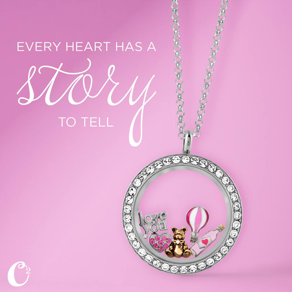 Every Heart Has a Story to Tell with Origami Owl - Come create your story at StoriedCharms.com