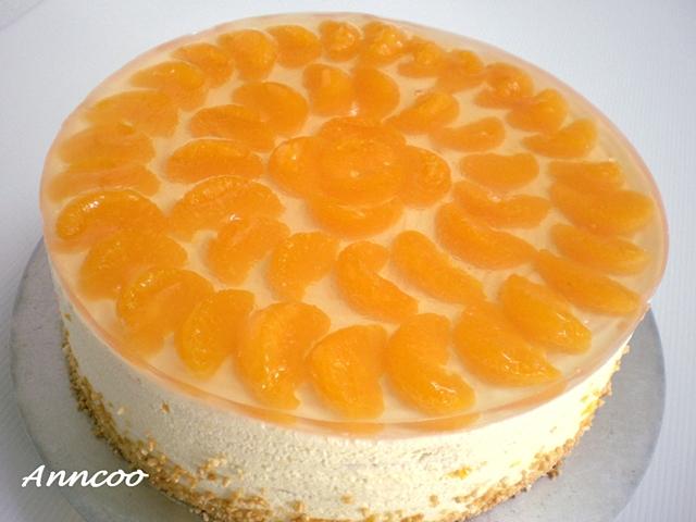 Orange And Passionfruit Cake