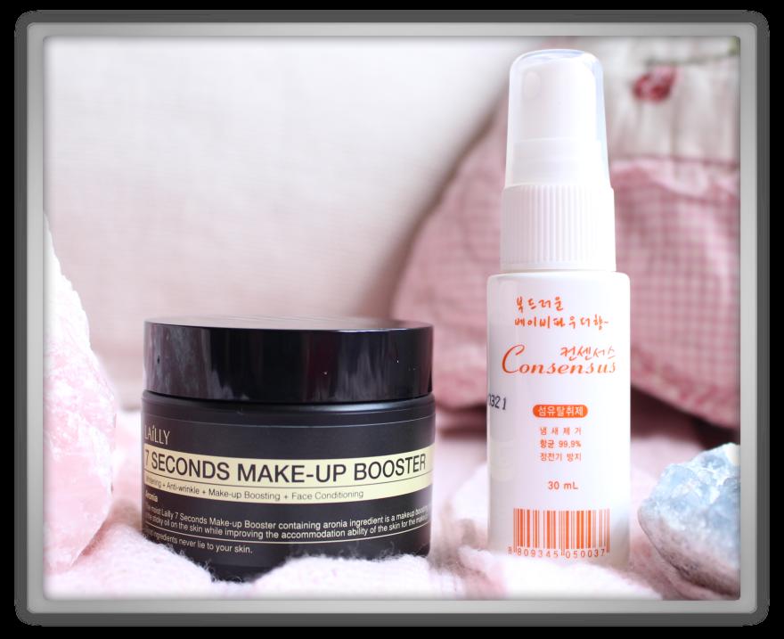 겟잇뷰티박스 by 미미박스 memebox beautybox scentbox 2 baby powder unboxing review preview box urban lailly 7 seconds makeup booster consensus fabric deodorizer