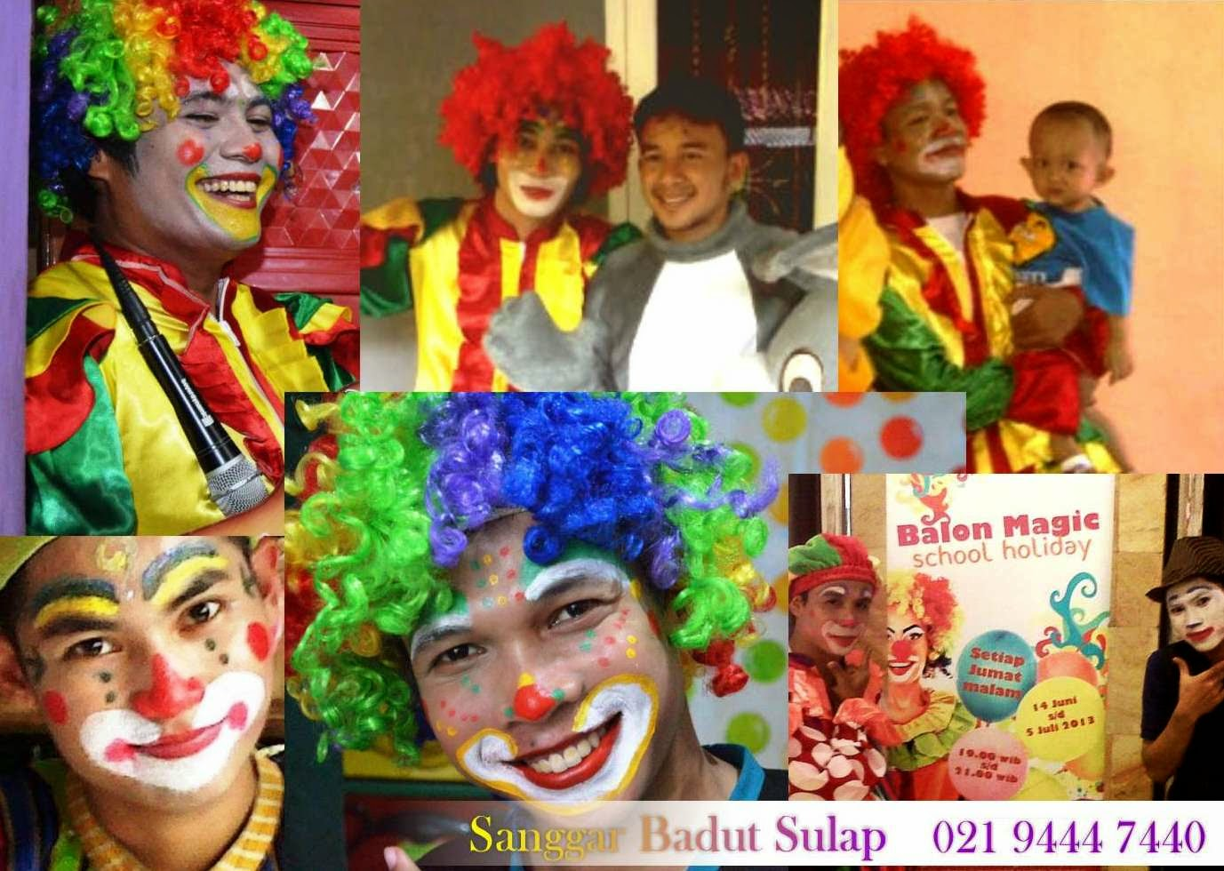 badut make up indonesia