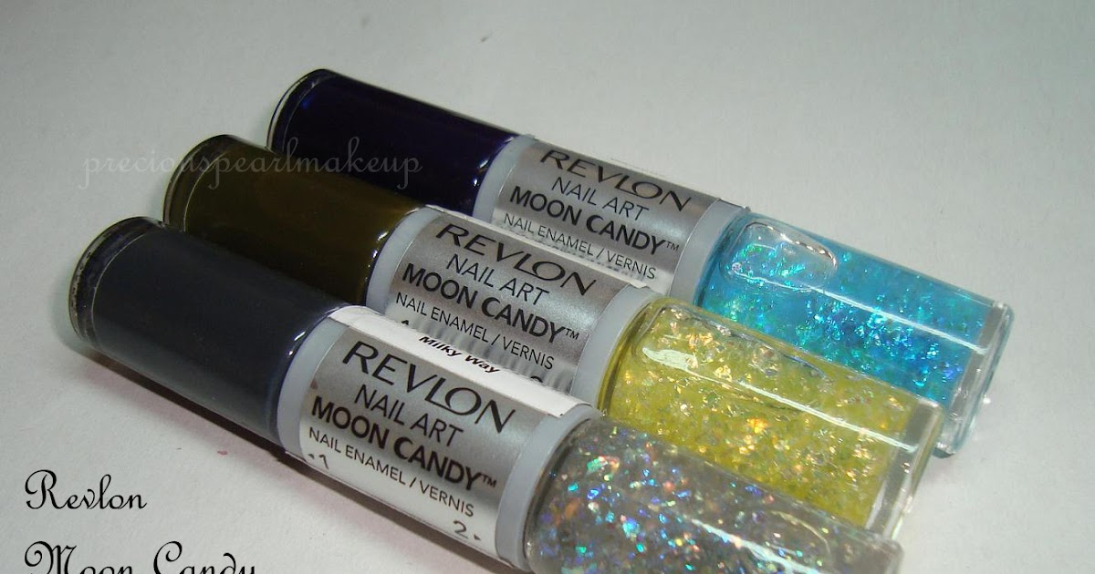 Preciouspearlmakeup Revlon Nail Art Moon Candy Nail Enamel