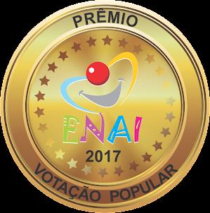 """prêmio """"ENAI -MELHORES DO ANO 2017"""""""