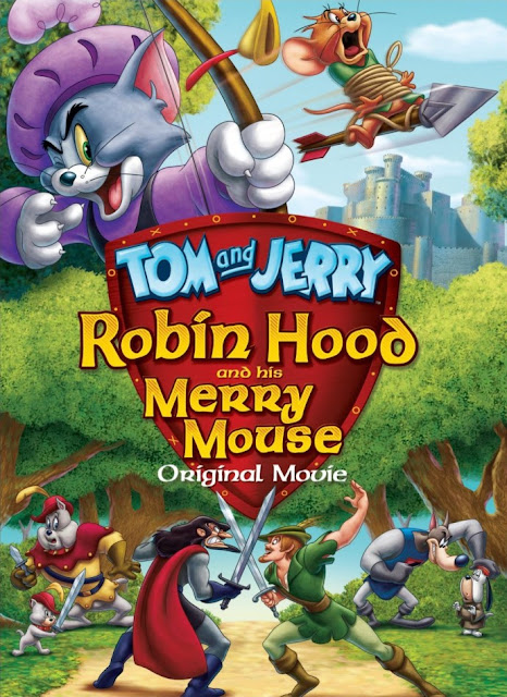 Tom and Jerry: Robin Hood and His Merry Mouse (2012) BluRay 720p 450Mb Mkv