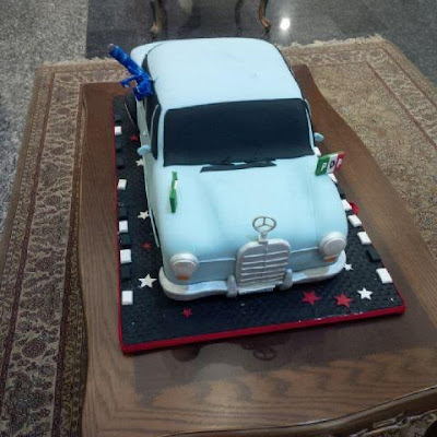 ayo fayose birthday cake photo