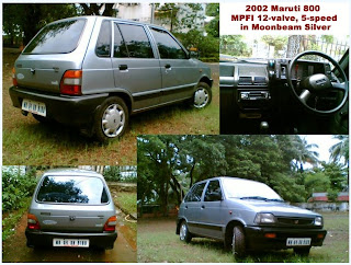 indoan famous old family car , maruti 800 is the famous old car in india