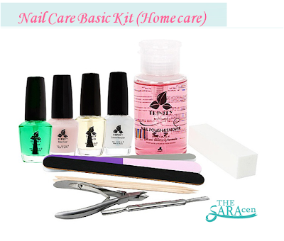 Nail Care Basic Kit for Home care