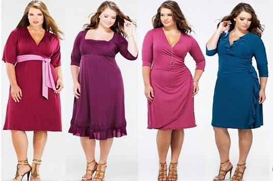 ... Cara Baru di Dunia Modern: Fashion untuk Wanita Ukuran Besar (Gendut