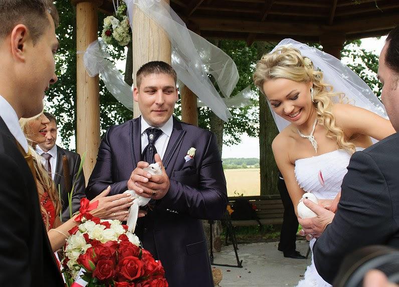 balti balandžiai vestuvėms