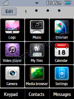 Corby 2 Black iPad Style Samsung Themes Free Download Menus