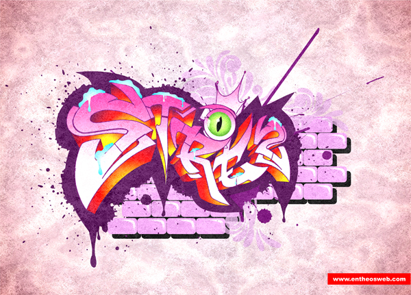 Graffiti Text Effect