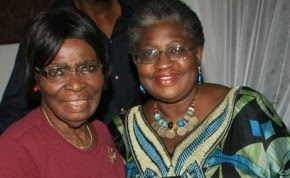 Ngozi Okonji Iweala and Mom