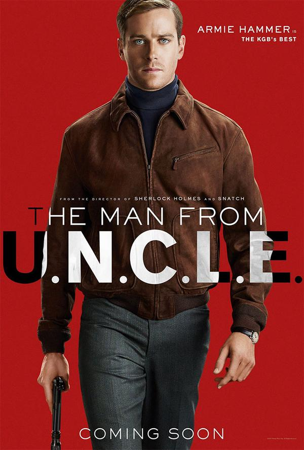 アーミー・ハマー The Man from U.N.C.L.E.