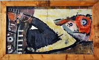 Pintura africana, óleo y pigmentos. Viajes por Africa Austral/Oeste