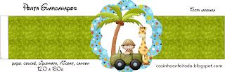 Kit Festa Tema Safari Para Imprimir Grátis
