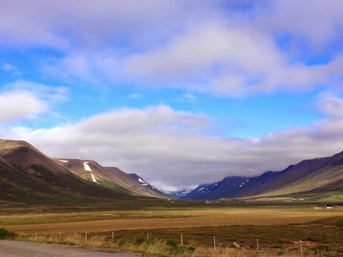 冰島自助旅行遊記照片-美麗的山谷