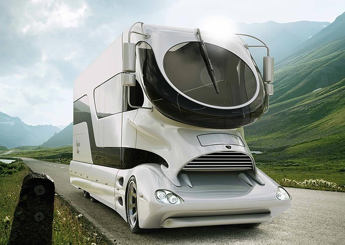 Mercedes Benz Clk Lm Is The Most Expensive Motorhome