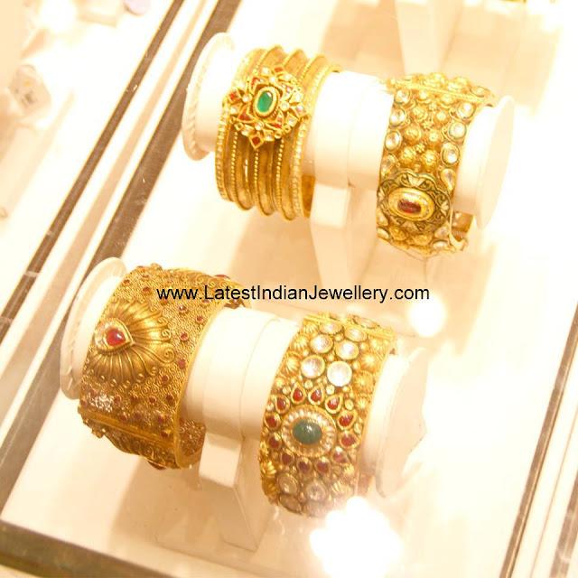 Nakshi Gold Bangles