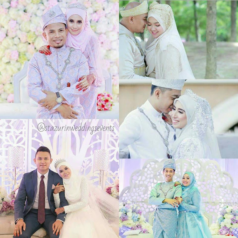 stazurinweddings pelamin dewan pelamin Tunang Mini pelamin Nikah Buaianberendoi pakej perkahwinan