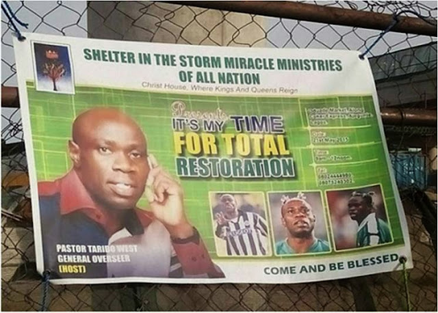 taribo west ministries