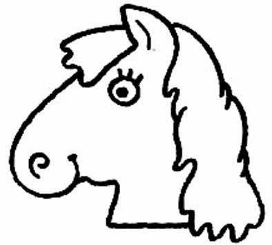 animais para pintar, animais para imprimir, animais,desenhos para imprimir, desenhos para pintar, cabeça de cavalo