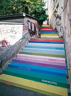 Holsteiner Germany Colorful Stairs