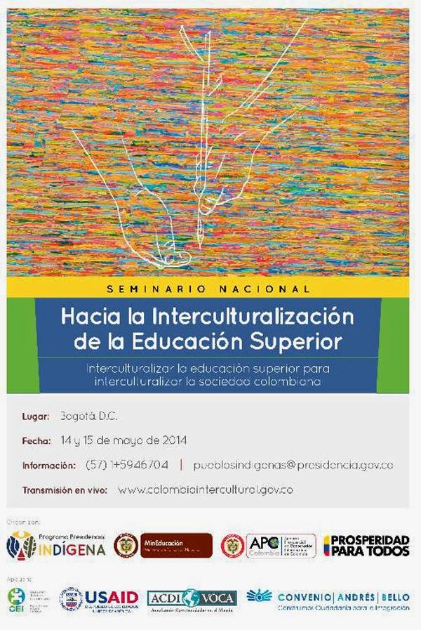 Bogotá-anfitriona-Seminario-Nacional-Interculturalización-Educación-Superior-2014