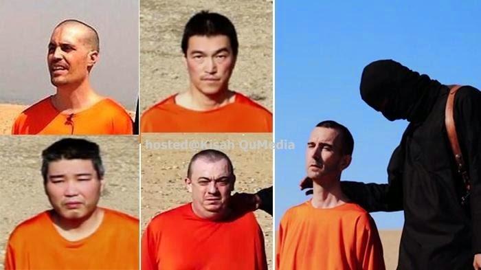 Tahukah Anda Mengapa Wajah Tawanan ISIS di Video Selalu Terlihat Santai Sebelum Di Pancung