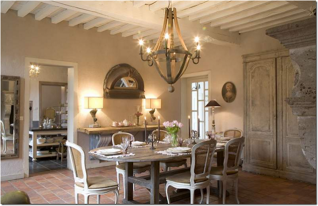 Old world dining room design ideas simple home for Old world home designs