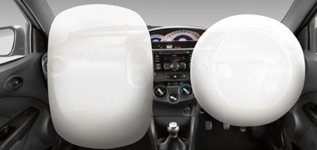 toyota etios valco airbag