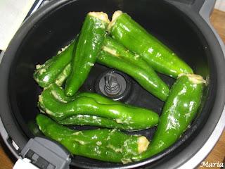 Pimientos relleno de tortilla