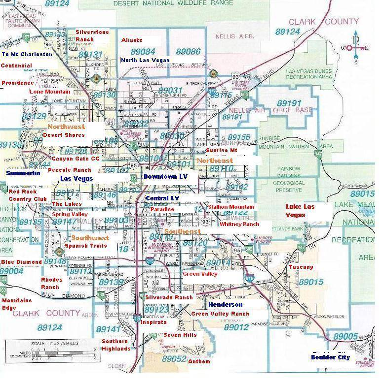 Map Of Las Vegas City Pictures