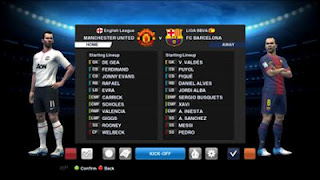 Screenshot PES 2013