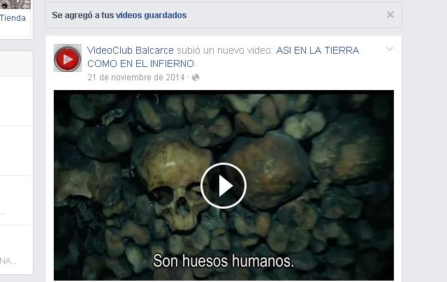 Como descargar vídeo de Facebook desde Savefrom