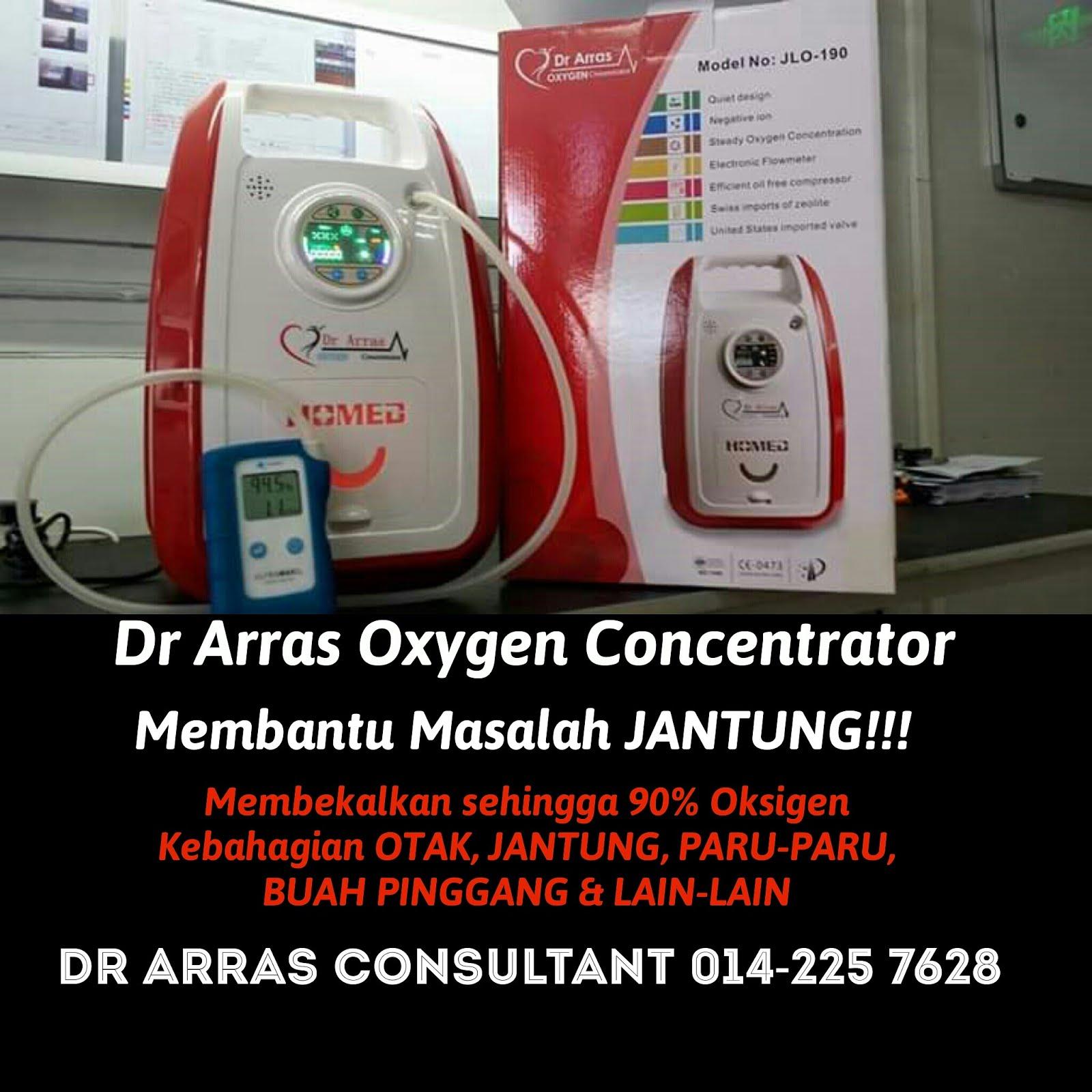 Terapi Oksigen Concentrator