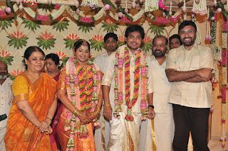 Director P Vasu Son Actor Shakthi Smiruthi Wedding Photos Gallery Marriage Stills And Pics Images