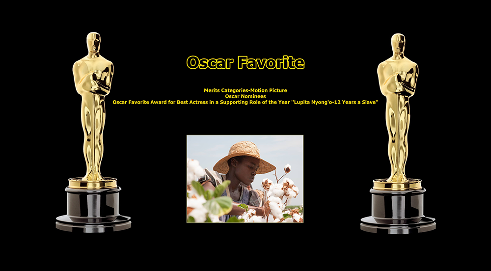 oscar favorite best actress in a supporting role award lupita nyongo 12 years a slave