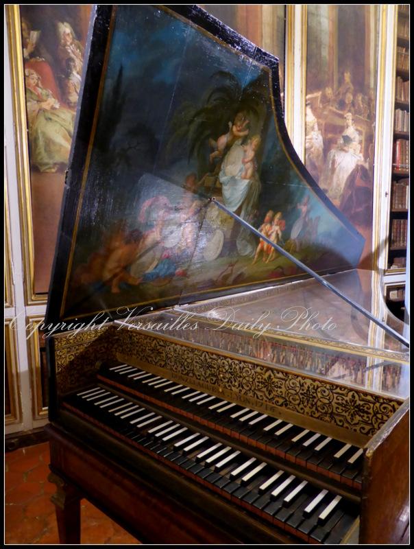 Clavecin Donzelague harpsichord Versailles