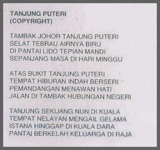 Lirik Loving Born Tanjung Puteri