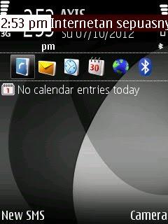 aplikasi s60Ticker hp symbian s60v3