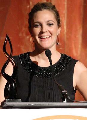 Drew Barrymore Dangle Decorative Earrings