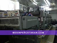 Heidelberg Speedmaster SM 102 | Mesin cetak 5 Warna