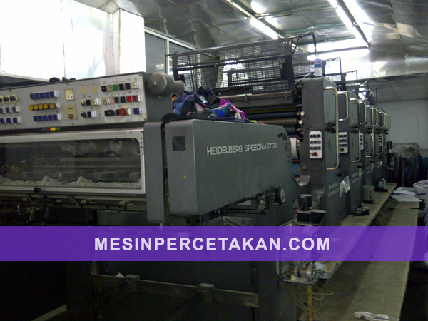 Heidelberg Speedmaster SM 102 | 5 Color printing machine